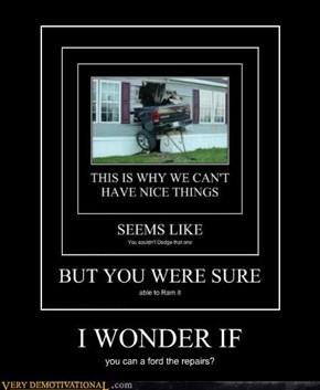 I WONDER IF