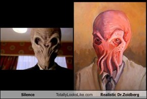 Silence Totally Looks Like Realistic Dr.Zoidberg