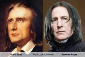Franz Liszt Totally Looks Like Severus Snape