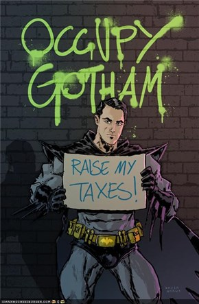 Awesome Art: Occupy Gotham by Anjin Anhut