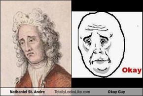 Nathaniel St. Andre Totally Looks Like Okay Guy