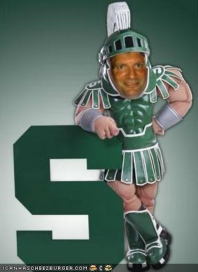 Sparty Rock Is In the House Tonight