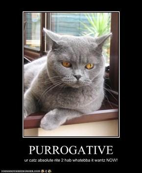 PURROGATIVE