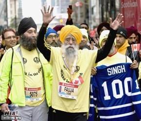 Marathon BAMF WIN
