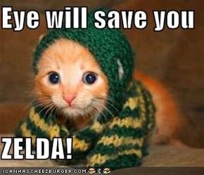 Eye will save you  ZELDA!