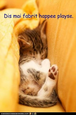 All warm an snuggly...