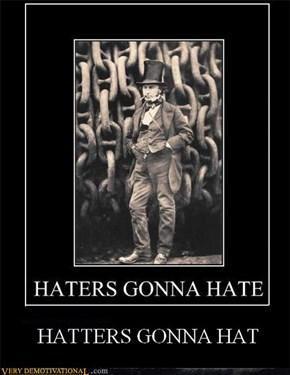 they gotta hat