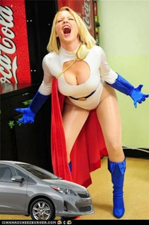 Power Girl: My Flippin' Foot!