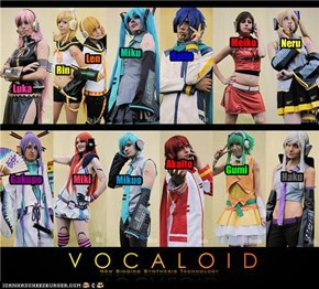 do you support VOCALOID?