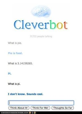 Cleverbot does not know anything