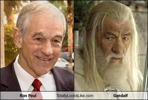 Ron Paul Totally Looks Like Gandalf