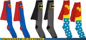 What?! Socks Can Have Capes?!?!?!?!