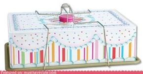 Retro Cake Box