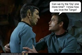 That Would Be Illogical While you Keep Trying to Lead