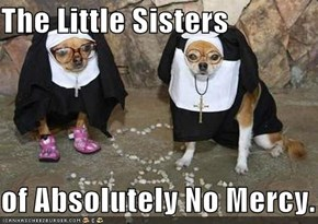The Little Sisters  of Absolutely No Mercy.