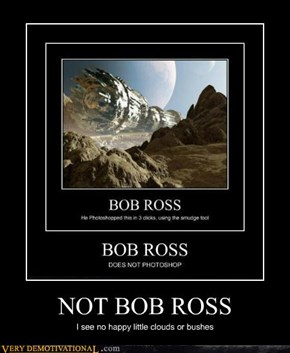 NOT BOB ROSS