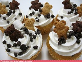 Epicute: Teddy Grahams Cupcakes