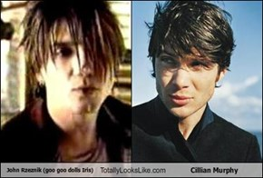 John Rzeznik (goo goo dolls Iris) Totally Looks Like Cillian Murphy
