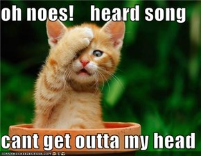 oh noes!    heard song  cant get outta my head