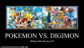 POKEMON VS. DIGIMON