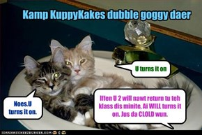 Kamp KuppyKakes dubble goggy daer