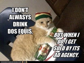 I DON'T ALWASYS DRINK DOS EQUIS,