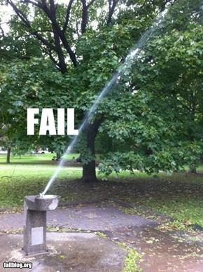 Water Pressure FAIL