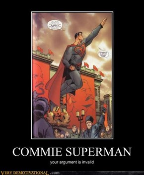 COMMIE SUPERMAN