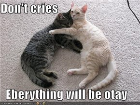 Don't cries  Eberything will be otay
