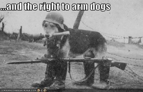 ...and the right to arm dogs