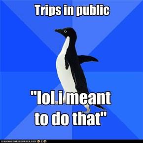 Trips in public