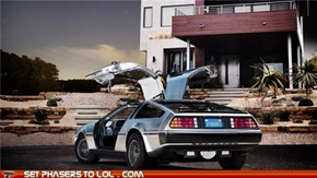 A New Electric DeLorean