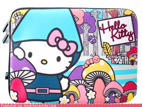 Hello Kitty Laptop Cover