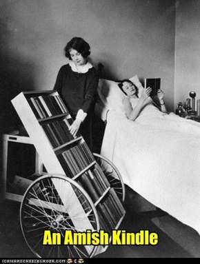 An Amish Kindle