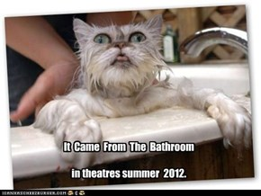 It  Came  From  The  Bathroom  in theatres summer  2012.