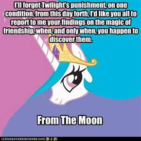 You dont want to know what she have plan for Twilight.