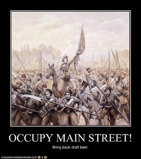 OCCUPY MAIN STREET!