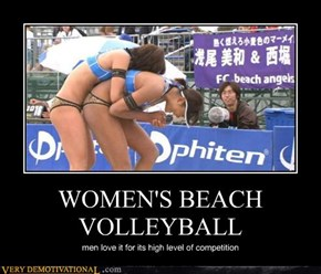 WOMEN'S BEACH VOLLEYBALL