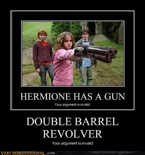 DOUBLE BARREL REVOLVER