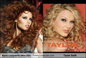 Alyssa Campanella (Miss USA) Totally Looks Like Taylor Swift