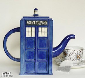 TARDIS Tea WIN