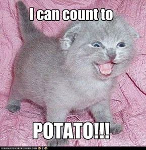 I can count to