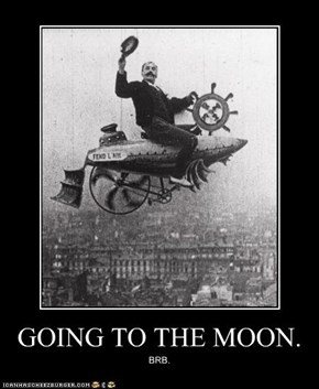 GOING TO THE MOON