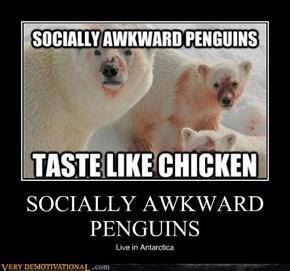 SOCIALLY AWKWARD PENGUINS