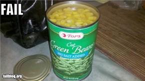 Green Vegetable FAIL