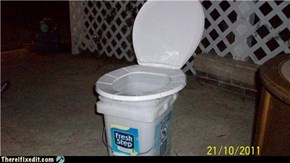 Redneck Porta-potty
