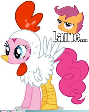 Scootaloo does not approve