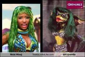 Nicki Minaj Totally Looks Like Girl Gremlin