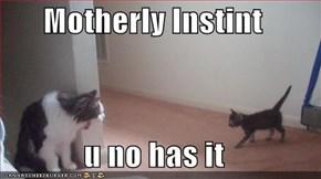 Motherly Instint  u no has it