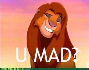Simba, U MAD?
